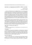 Họ Ngọc Lan (magnoliaceae): hệ thống và phân loại học