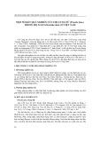 Một số kết quả nghiên cứu chi cung nữ (procris juss.) trong họ gai (urticaceae juss.) ở Việt Nam