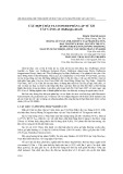 Các hợp chất flavonoid phân lập từ gỗ cây Cẩm Lai (dalbergia oliveri)