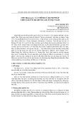 Chi microcos l. và chỉnh lý danh pháp cho loài cò ke (Bung Lai) ở Việt Nam