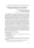 Nghiên cứu sinh trưởng của cây nưa chuông (Amorphophallus paeoniifolius) ở Thừa Thiên Huế