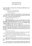 Câu hỏi ôn tập Triết học Mác-Lênin (Có đáp án)