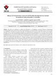 Efficacy of Trichogramma evanescens and Bacillus thuringiensis var. kurstaki in control of Cydia pomonella (L.) in Turkey