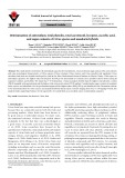 Determination of antioxidant, total phenolic, total carotenoid, lycopene, ascorbic acid, and sugar contents of Citrus species and mandarin hybrids