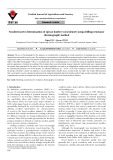 Nondestructive determination of spruce lumber wood density using drilling resistance (Resistograph) method