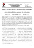 Influence of vermicompost application on soil consistency limits and soil compactibility