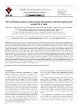 Effect of irrigation regimes on carbon isotope discrimination, yield and irrigation water productivity of wheat