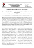 Lipophilic antioxidants in edible weeds from agricultural areas
