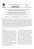Effect of pollenizers on production and fruit characteristics of date palm (Phoenix dactylifera L.) cultivar Medjool in Mexico