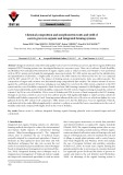 Chemical composition and morphometric traits and yield of carrots grown in organic and integrated farming systems
