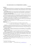 Số lượng men gan ALT ở bệnh nhân lao/HIV(+)