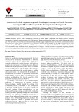 Emissions of volatile organic compounds from lacquer coatings used in the furniture industry, modified with nanoparticles of inorganic metal compounds