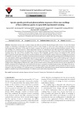 Species-specific growth and photosynthetic responses of first-year seedlings of four coniferous species to open-field experimental warming