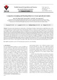 Comparison of pulping and bleaching behaviors of some agricultural residues