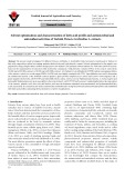 Solvent optimization and characterization of fatty acid profile and antimicrobial and antioxidant activities of Turkish Pistacia terebinthus L. extracts