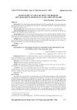 Đánh giá hiệu lực phác đồ thuốc chloroquine đối với sốt rét plasmodium vivax chưa biến chứng, 2009