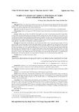 Nghiên cứu hành vi sức khỏe và tình trạng sức khỏe cư dân tỉnh Bình Dương năm 2009