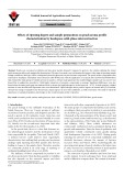 Effects of ripening degree and sample preparation on peach aroma profile characterization by headspace solid-phase microextraction