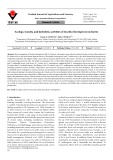 Ecology, toxicity, and hydrolytic activities of Bacillus thuringiensis in forests