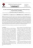 Dry matter yield, feeding value, and antioxidant activity in Mediterranean chicory (Cichorium intybus L.) germplasm