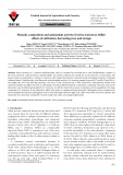 Phenolic composition and antioxidant activity of Salvia tomentosa Miller: effects of cultivation, harvesting year, and storage