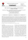 Effects of agronomic practices on the physico-chemical properties of soil waters in rice culture