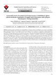 Insecticidal activity of essential oil of Prangos ferulacea (Umbelliferae) against Ephestia kuehniella (Lepidoptera: Pyralidae) and Trichogramma embryophagum (Hymenoptera: Trichogrammatidae)