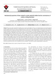 Mechanical properties of heat-treated wooden material utilized in the construction of outdoor sitting furniture