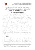 Nghiên cứu về cơ chế quản trị, chất lượng kiểm toán và quản trị lợi nhuận: Trường hợp các công ty niêm yết Việt Nam