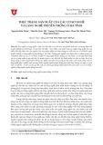 Thực trạng sản xuất của các cơ sở nghề và làng nghề truyền thống ở Hà Tĩnh