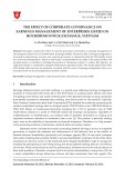 The effect of corporate governance on earnings management of enterprises listed on Hochiminh stock exchange, Vietnam