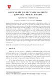 Đầu tư và hiệu quả đầu tư nuôi tôm ở huyện Quảng Điền, tỉnh Thừa Thiên Huế