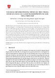 Vận dụng mô hình phương trình cấu trúc trong đánh giá năng lực cạnh tranh điểm đến du lịch Thừa Thiên Huế