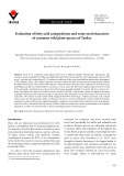 Evaluation of fatty acid compositions and some seed characters of common wild plant species of Turkey