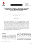 Isolation and characterization of native Bacillus thuringiensis isolates from Syrian soil and testing of their insecticidal activities against some insect pests