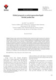 Global perspectives on first generation liquid biofuel production