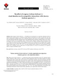 The effect of ryegrass (Lolium italicum L.) stand densities on its competitive interaction with cleavers (Galium aparine L.)