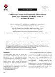 Comparison of essential oil components of wild and field grown Salvia cryptantha Montbert & Aucher ex Benthan, in Turkey