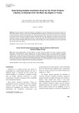 Determining suitable investment areas for the forest products industry: An example from the Black Sea region in Turkey