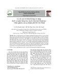 Lý do cản trở khách hàng sử dụng dịch vụ ngân hàng trực tuyến (Internet Banking) - Một nghiên cứu tại thành phố Hồ Chí Minh