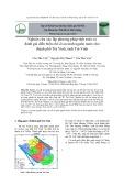 Nghiên cứu xác lập phương pháp tính toán và đánh giá diễn biến chỉ số an ninh nguồn nước cho thành phố Trà Vinh, tỉnh Trà Vinh