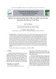 Nghiên cứu phương pháp hiệu chỉnh sản phẩm mưa dự báo hạn mùa cho khu vực Việt Nam