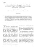 Influence of rootstocks on changing the pattern of phenolic compounds in Thompson seedless grapes and its relationship to the incidence of powdery mildew