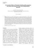 Co-inoculation effects of phosphate solubilizing Microorganisms and Glomus fasciculatum on green gram Bradyrhizobium symbiosis