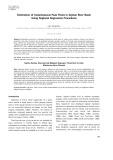 Estimation of instantaneous peak flows in Seyhan river basin using regional regression procedures