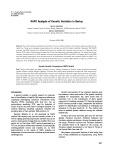 RAPD analysis of genetic variation in barley