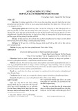Sơ bộ nghiên cứu tổng hợp dẫn xuất dimer phenylbutenoid