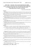 Kiến thức - thái độ - thực hành về đội mũ bảo hiểm đúng cách và tuân thủ luật giao thông ở học sinh khối 6, 7 trường THCS Chu Văn An thị xã Thủ Dầu Một tỉnh Bình Dương tháng 4 năm 2009