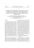 Nghiên cứu biến động tính chất vật lý và hóa học cơ bản của đất đỏ basalt dưới các loại hình sử dụng khác nhau ở Đắk Nông