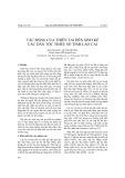 Tác động của thiên tai đến sinh kế các dân tộc thiểu số tỉnh Lào Cai